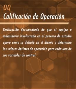Calificación de Operación
